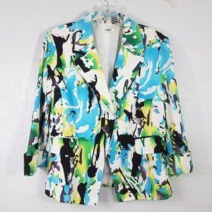 CATO One Button Women's Blazer Jacket